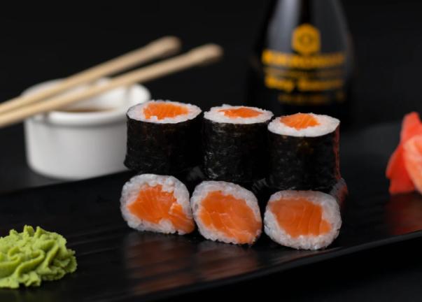 De verschillende soorten sushi bij SHABU to go